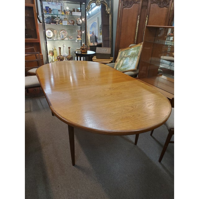 G Plan Mid Century Modern G Plan Dining Table For Sale - Image 4 of 10