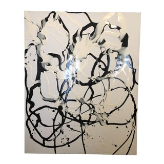 Signed Original Abstract Painting by William Kozar For Sale