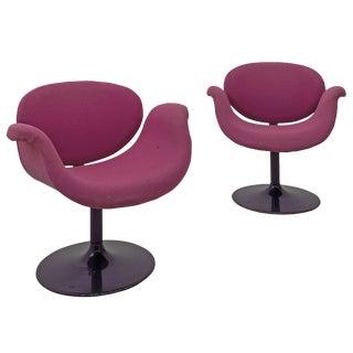 "Pair of 1965 Pierre Paulin ""Little Tulip"" 163 Model Artifort Armchairs"