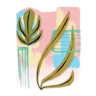 Modern Botanical Abstract 1 Print, 2018