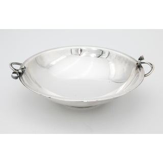 Art Deco Silver Plate Danish Footed Bowl Preview