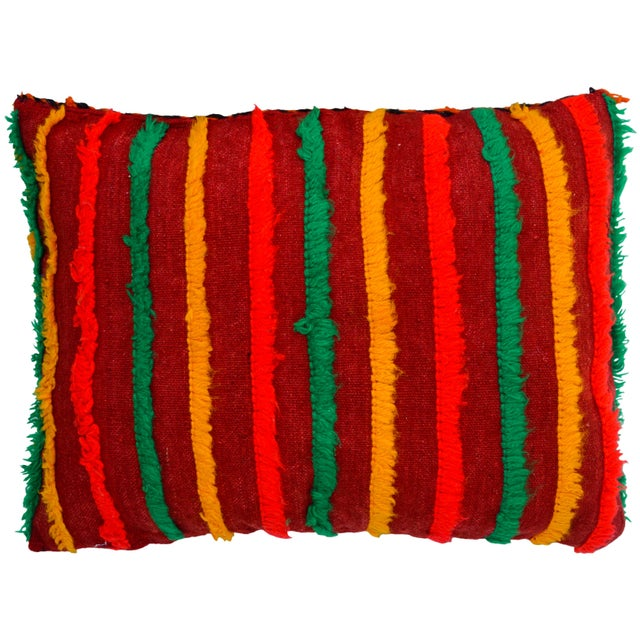 Textile Moroccan Berber Star Pillow For Sale - Image 7 of 8
