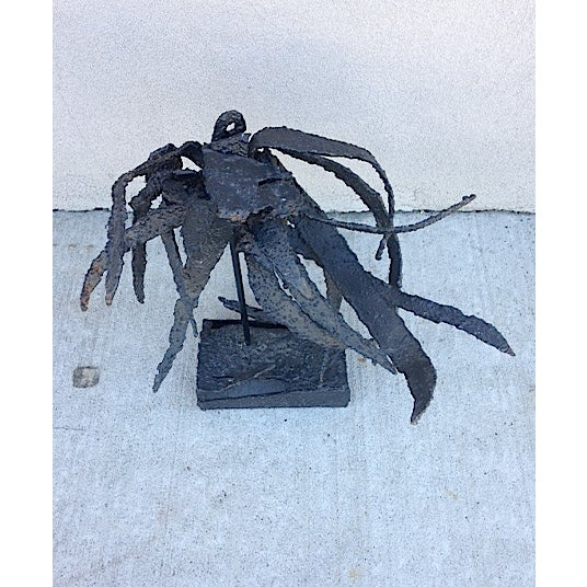 Metal Brutalist Insect Sculpture For Sale In New York - Image 6 of 6
