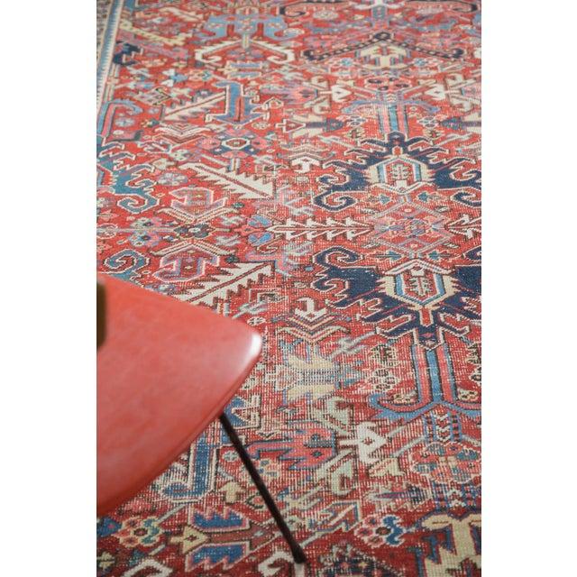"Distressed Heriz Carpet - 8' X 11'2"" - Image 8 of 10"