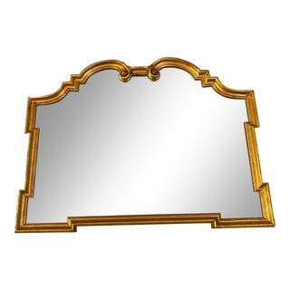 1930s Art Deco Large Wall Mirror For Sale