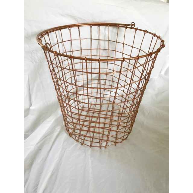 Copper Storage Basket - Image 3 of 5