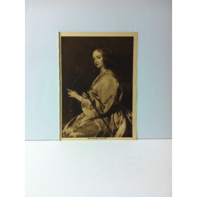 "Circa 1915 ""Maria Ruthven"" the Mentor Association Print For Sale - Image 4 of 4"