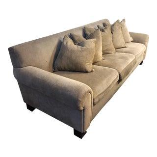 Ralph Lauren Gold Sofa For Sale