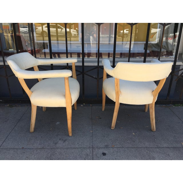 Mid-Century Sculptural Armchairs - A Pair For Sale - Image 4 of 11