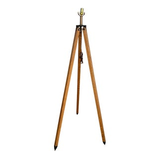 Vintage Tripod Lamp For Sale