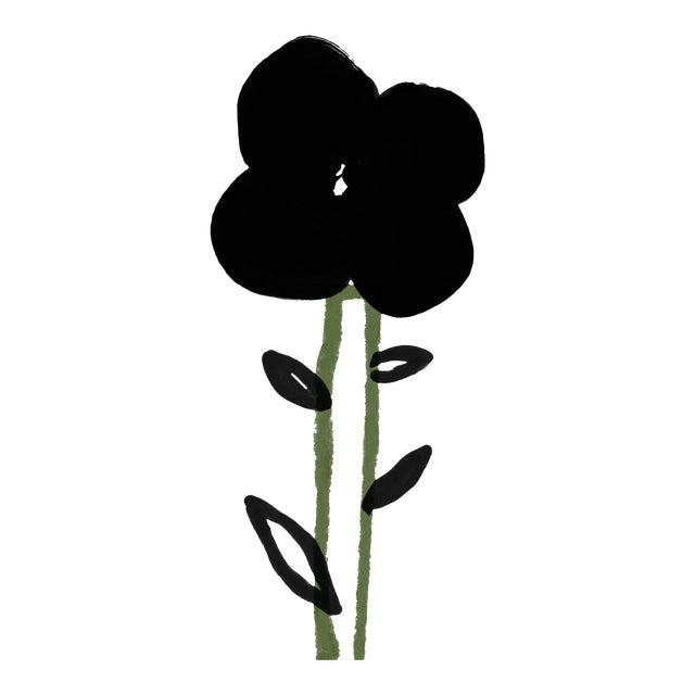 """""""A Single Flower"""" Limited Edition Print by Annie Naranian For Sale"""