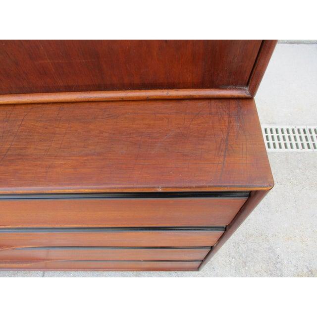 John Kapel for Glenn of California Walnut Armoire or Dresser For Sale - Image 12 of 13
