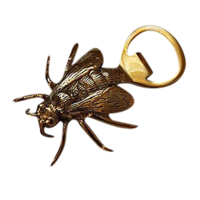 Brass Royal Bee Bottle Opener - Image 1 of 3