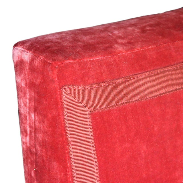 2010s French Left Arm Banquette Settee For Sale - Image 5 of 11