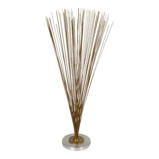 1960s Vintage Bertoia Style Spray Sculpture For Sale