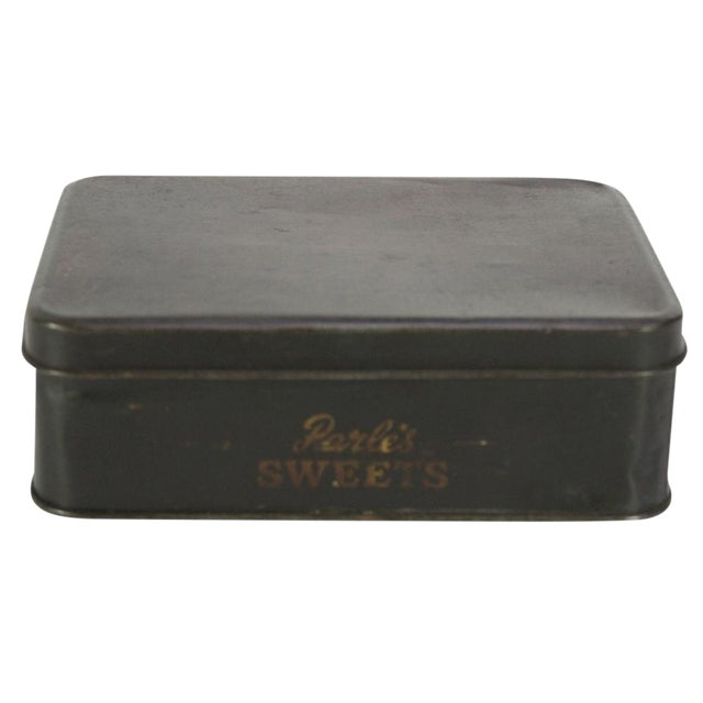 Vintage Candy Tin Box For Sale