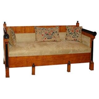 Mid 19th Century Swedish Biedermeier Sofa For Sale