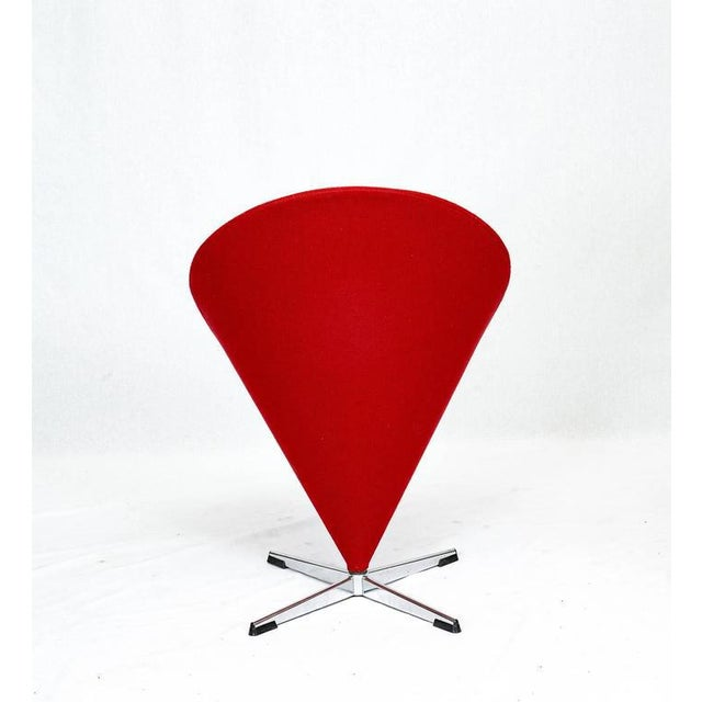 "Verner Panton ""Cone"" Chair For Sale In Los Angeles - Image 6 of 10"