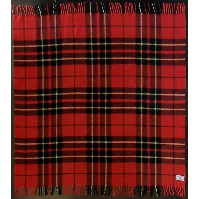 Troy Robe Tartan Plaid Throw Blanket For Sale - Image 4 of 6
