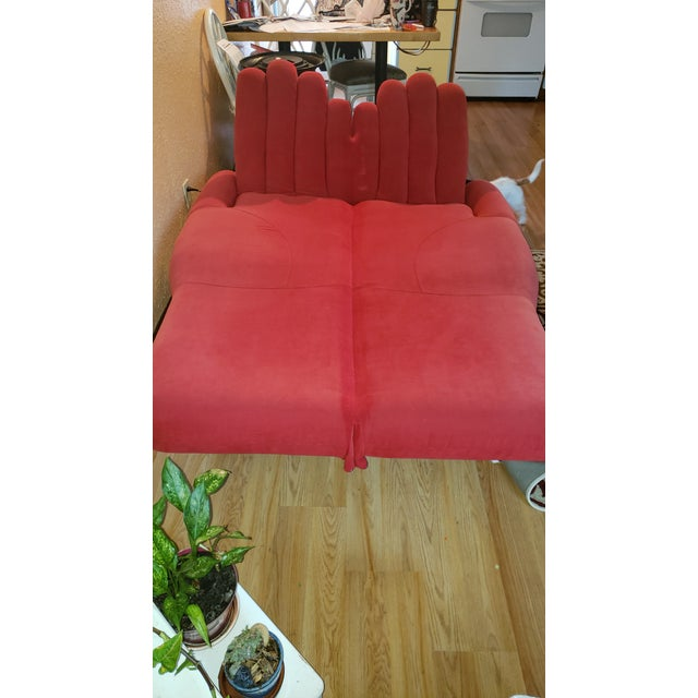 Mid-Century Modern Unique 2 Hands Reclining Couch For Sale - Image 3 of 6