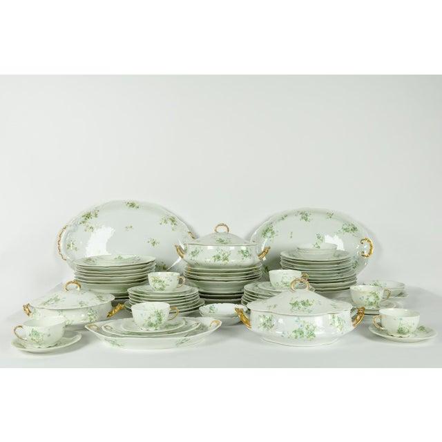 Limoges, France France Limoges Porcelain Dinner Service - 73 Pieces For Sale - Image 4 of 6