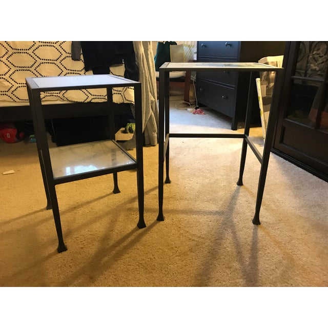 Pottery Barn Tanner Nesting Side Tables - A Pair - Image 3 of 6