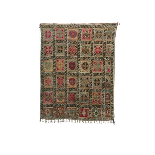1990s Talsint Moroccan Rug - 6′3″ × 7′11″ For Sale