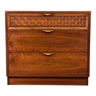 Lane Perception Mid-Century Modern 3-Drawer Bachelors Chest / Dresser For Sale