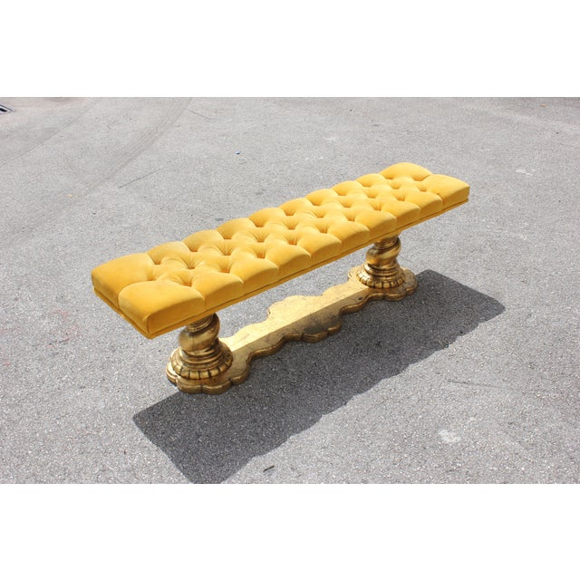 1900s Vintage French Louis XIII Barley Twist Bench For Sale - Image 4 of 13