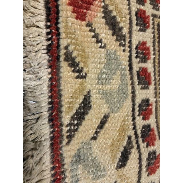 Bellwether Rugs Vintage Turkish Oushak Rug - 4′5″ × 7′3″ - Image 7 of 7