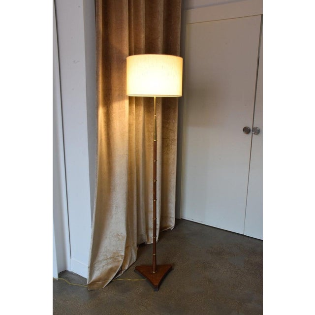 French 20th Century French Floor Lamp by Maison Lunel, 1950s For Sale - Image 3 of 9
