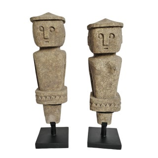 Stone Figures Timor Island For Sale