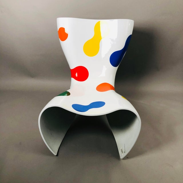 Aluminum Marc Newson Limited Edition Felt Chair For Sale - Image 7 of 9