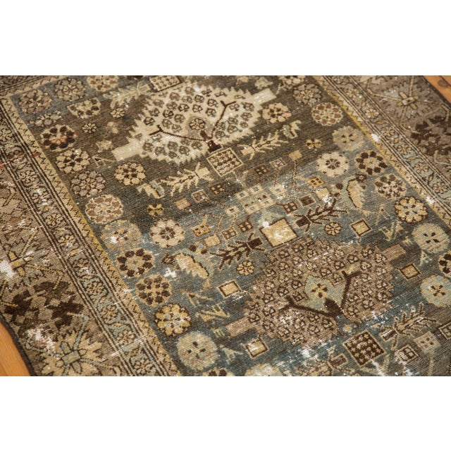 """Vintage Distressed Malayer Rug - 3'3"""" X 4'7"""" For Sale - Image 9 of 11"""