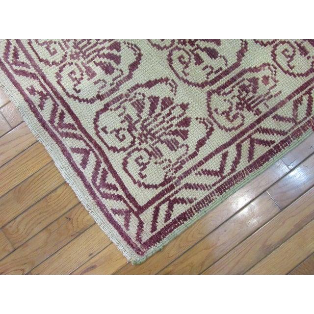 1970s Vintage Handmade Wool Turkish Anatolian Rug For Sale - Image 5 of 7