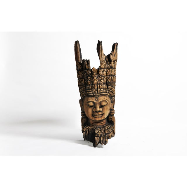 Southeast Asian Carving of Goddess For Sale - Image 13 of 13