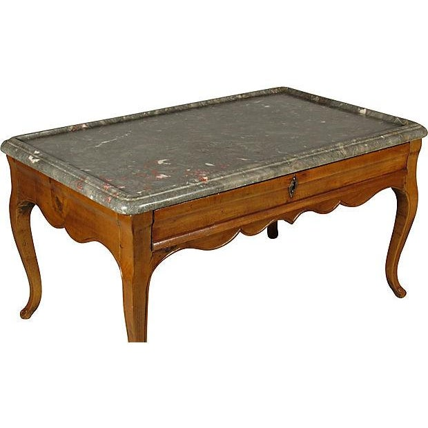French Fruitwood Coffee Table Chairish