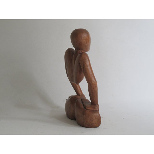 Abstract Female Sculpture - Image 4 of 7