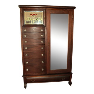 Empire Mahogany Gentleman's Wardrobe