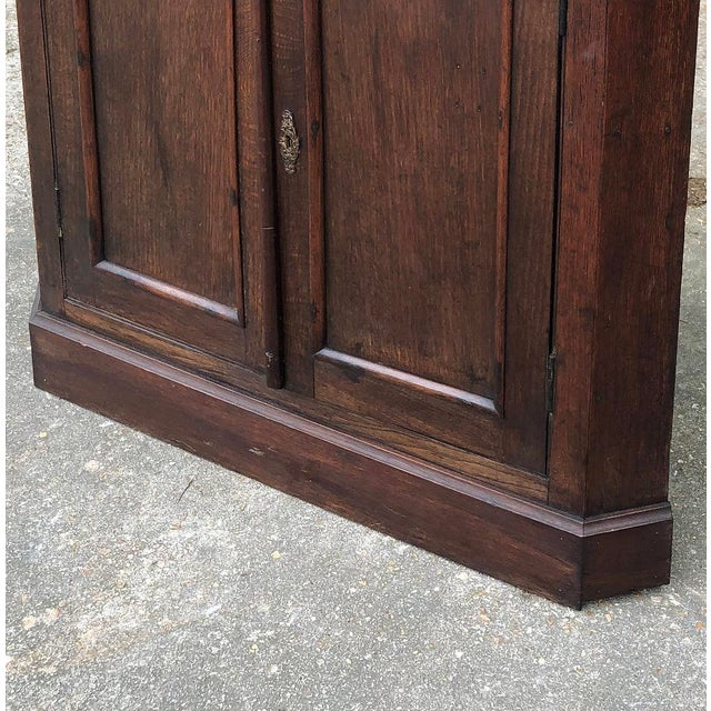 19th Century French Louis Philippe Corner Cabinet For Sale - Image 11 of 13
