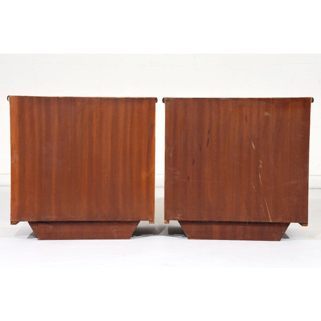 Pair of Mid-Century Modern Nightstands or Side Tables For Sale - Image 10 of 10