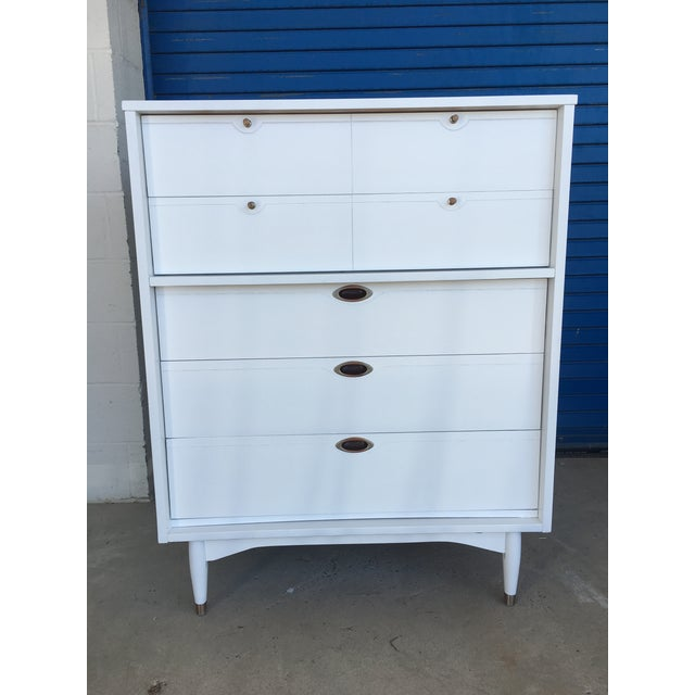 Hooker Mid-Century Lacquered White Chest - Image 3 of 8