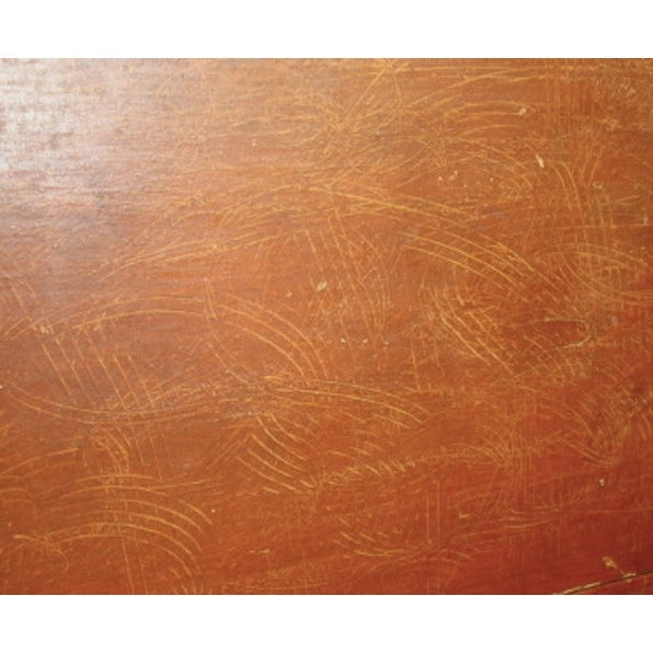 Yellow Folk Art Grain Painted Chest of Drawers For Sale - Image 8 of 8