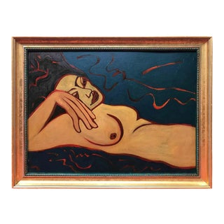 Nude Oil Painting by Barbara Dodge For Sale