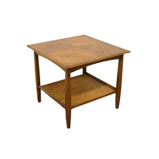 Vintage Mid-Century Bassett Furniture Mid-Century Modern Side Table For Sale