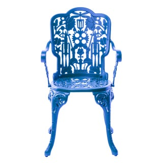 Seletti, Industry Armchair, Indoor/Outdoor, Sky Blue, Studio Job, 2017 For Sale