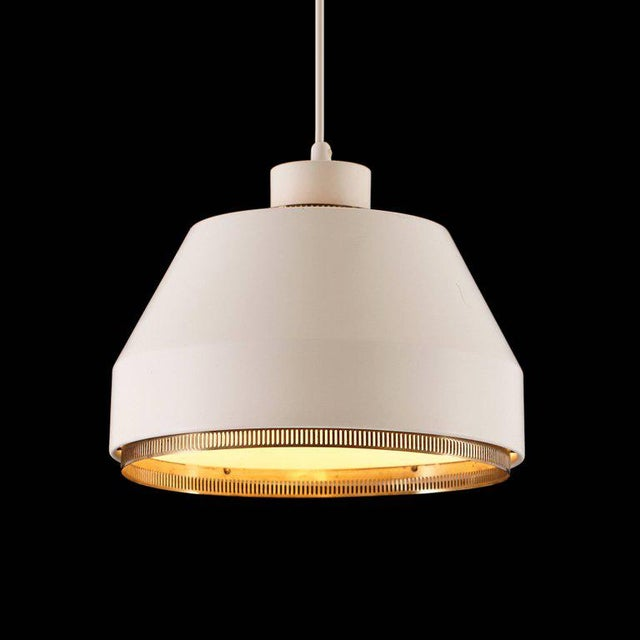Valaistustyö 1940s Modern Aino Aalto 'Ama 500' Pendant Light For Sale - Image 4 of 13