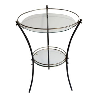 Mid-Century Hollywood Regency Side Table For Sale
