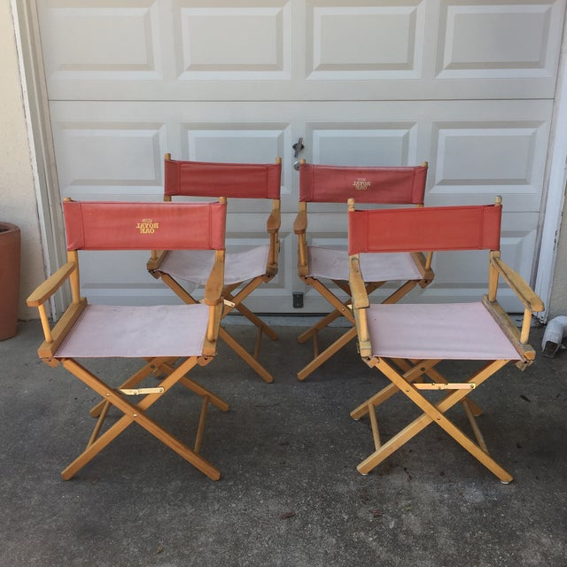 """Great set of sturdy folding flat chairs. Perfect for quickly entertaining. Folds completely flat. Floor to seat 18"""""""