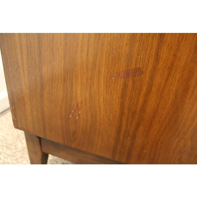 Brown Mid-Century Danish Modern Walnut Credenza For Sale - Image 8 of 11